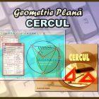 Geometrie Plană - Cercul - Eticheta