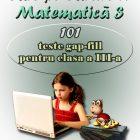 Care pe Car(t)e – Matematica 3, 101 teste gap-fill - eticheta