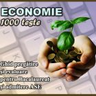 Ghid pregatire-evaluare – Economie Bacalaureat - eticheta