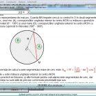 Geometrie Plană - Cercul - Detaliu 5