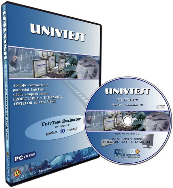 UnivTest Evaluator - pachet 10 lic