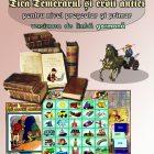 Puzzle Tica Temerarul si eroii antici - l.germana - eticheta